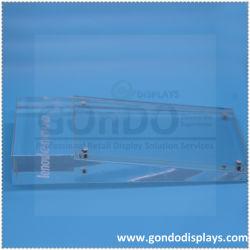 شعار مخصص طباعة سطح مضاد شفاف Acrylic Lenovo Mobile Phone Electronic حامل شاشة المنتجات