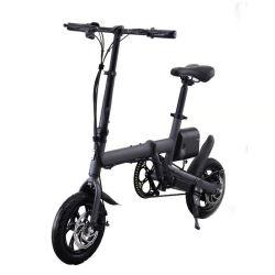 リチウム電池ブラック電気自転車 240W アルミ合金を販売