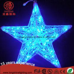 休日のパーティの装飾のためのLED 3Dのモチーフの星の装飾的なライト