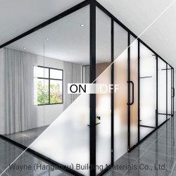 Vetro di vetro astuto di /Privacy di migliore qualità/vetro permutabile di vetro glassato/vetro magico per la costruzione di vetro decorativa della parete di vetro del portello a partire da 20 anni di OEM della fabbrica