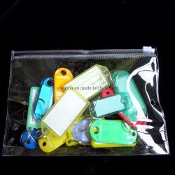 Zakken van de Ritssluiting van de douane ontruimen de Transparante Plastic de Verpakkende Zakken van pvc met Druk