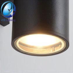 Черный Cylinde 6W современные светильники черным светом IP65 Водонепроницаемый для использования вне помещений настенные светильники для дома настенные лампы