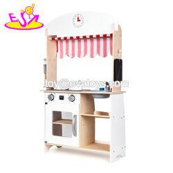 Nieuw Ontwerp 2 Houten de Jonge geitjes van Kanten beweert het Stuk speelgoed van het Spel met Elektronisch Fornuis W10c539