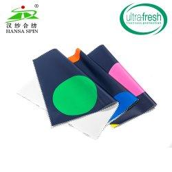 Hot Sale de haute qualité impression Great Circle inodore PU veste en cuir synthétique pour soft