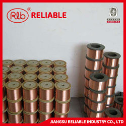 튜브 용접 더함 40% IACS 초고강도 3/AWG(4-12) 구리 클래드 강철 스트랜드 와이어 CCS