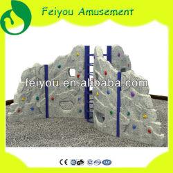 Équipement de terrain de jeux de plein air d'Amusement Feiyou Mur d'escalade en pierre du châssis pour la vente des enfants d'escalade de plein air commerciale