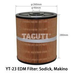 Cable cortado filtro EDM Φ 260*46*280mm φ Sodick Taguti Makino Yt-23.