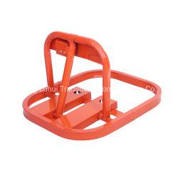 Orange Rouge verrouillage de type d'Europe centrale auto voiture aucune barrière de verrouillage de stationnement de l'APP à Dubaï Émirats arabes unis pour la vente d'emballage en plastique