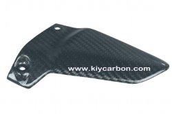 Motorrad-Kohlenstoff-Teilpillion-Ferse-Abgas-Schutz für Ducati Monster
