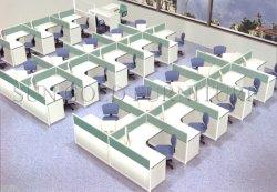 Werkstation 10 van de melamine het Beschikbare Goedkope Bureau van de Computer van de Prijs Seaters (sz-WS323)