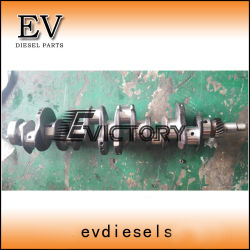 Les pièces du moteur du chariot élévateur 4dr7 6DR7 6DR5 4DR5 4DQ5 4DQ7 Jeu de palier principal du vilebrequin