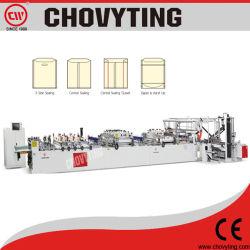 3-Junta lateral con cremallera Stand up Pouch máquina