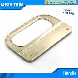 軽い金の正方形の荷物のハンドルの部品