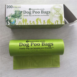 Аксессуары для домашних животных биологически разлагаемое Custom сумки для собак Poop