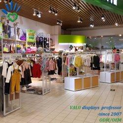Nova chegada Novo Estilo Kids Retail Design de Interiores loja de vestuário