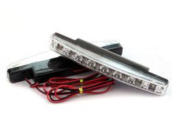 8 LED série conduite de jour de l'exécution DRL lumière