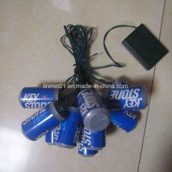 Latas personalizadas de Caracteres de LED de luz com a impressão de presente de promoção