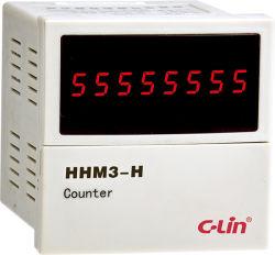 8개의 손가락 미터 카운터는, Hhm3-H를 세는 감산 추가한다