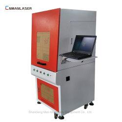 Mobile Uhr ruft die Teile an, die Maschinerie beiliegende Laser-Markierungs-Maschinen markieren