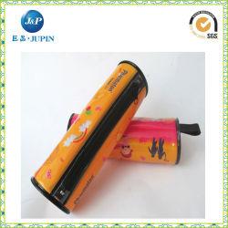 Contenitore di matita caldo della cassa della penna della chiusura lampo dell'allievo del banco del sacco della cancelleria (JP-Plastic051)