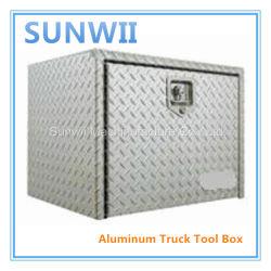Acero inoxidable y aluminio Camión Caja de herramientas, piezas de la carretilla