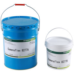 構築の接合箇所のシーリング(Comensflex 8277L)のための2コンポーネントPU (ポリウレタン)の密封剤
