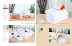 Van de Katoenen van 100% Reeksen de Witte Handdoek van het Hotel
