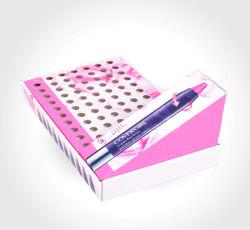 Mode Boîte d'affichage du papier imprimé rouge à lèvres