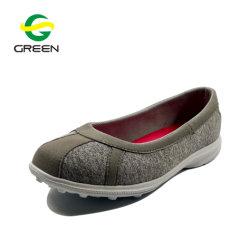 По положению женщин скольжения Greenshoe обувь пола плоскую обувь для женщин