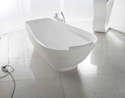 Endroit central et type libre surface libre de drain d'installation de solide de baignoire