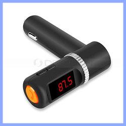 En voiture sans fil Bluetooth avec l'émetteur FM 4.2A/21W à 2 ports USB de la charge de Téléphonie mains libres voiture lecteur MP3