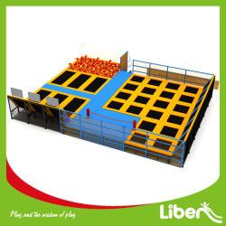 Grande piscine intérieure de gymnastique Trampoline de solutions de stationnement