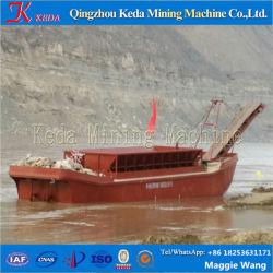 100m3 de sable de rivière Carrier, barge de sable, sable barge de transport