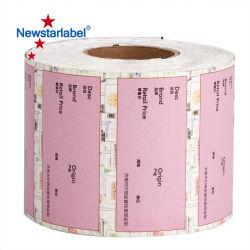 4X6 adhésif étiquette vierge de papier thermique pour imprimante de code à barres Zebra