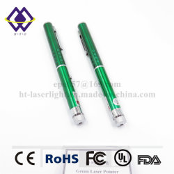 工場価格の最もよい高い発電の緑の点レーザーのポインターのペン