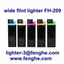Pedra Disposible Acendedor de gás de cigarros de plástico grande Fh-209