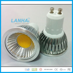 L'aluminium coupe feu 3W COB E14/E27/GU10/GU5.3/LED MR16 Spotlight