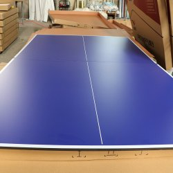 Ping-pong rivestito UV dell'interno di Pingpong di sport esterno di colore blu