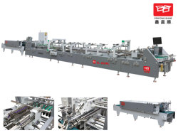 Haute précision dossier Boîte de papier ondulé automatique machine Gluer (YL-650PC)