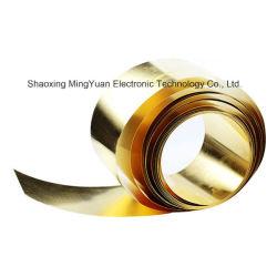 precio de fábrica de 3mm 4mm disco 1/2 H63 C2720 material templado de color amarillo de la lámina de latón/lámina de cobre/latón bobina