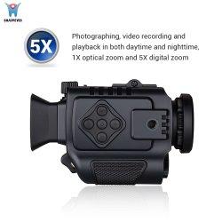 Tamaño de bolsillo pequeño Ámbito de visión nocturna infrarroja Monocular Goggle