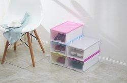 Красочный дизайн пластиковая коробка для хранения подарочная упаковка обувь в салоне упаковке для бытовых изделий из пластмасс