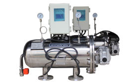 Industrieller Wasserbehandlung-Maschensieb-automatischer Saugfilter
