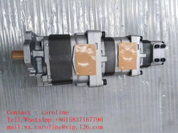 Les camions à benne Genuin Komatsu HM400 Dispositif de levage de la pompe hydraulique à engrenages 705-95-07030 de la pompe de la machinerie de construction pièces de rechange