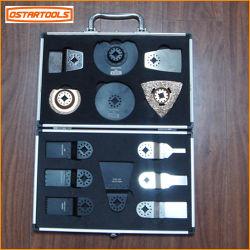Herramienta Multi oscilante 13pcs conjunto de la hoja de sierra Kit de herramientas de mano