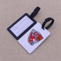 3D personalizada Etiqueta de Equipaje de silicona suave/ bolsa de goma PVC/etiqueta etiqueta de equipaje
