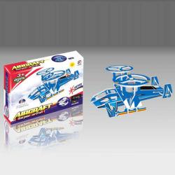 Promoção 3D aeronaves de Energia Solar DIY Puzzle inteligente brinquedo (10165461)