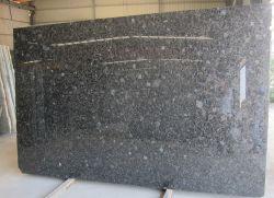 Pedra natural Azul Volga Ucrânia diamante azul lajes de granito preto