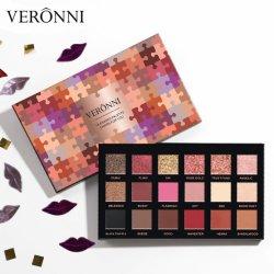 Nouvelles 2019 Tendances fard à paupières paillettes de palette de produits cosmétiques couleur mat imperméable en gros 18 Eye Shadow #01