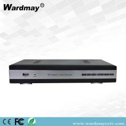 Sorveglianza Poe NVR di obbligazione domestica del CCTV di Wdm H. 265+ 4chs